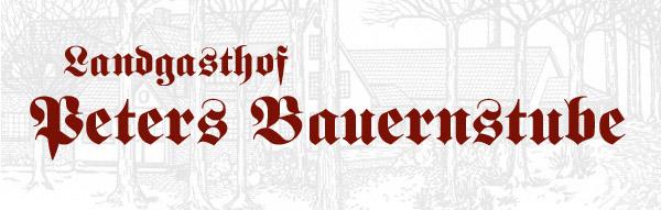 Logo Peters Bauernstube Ns
